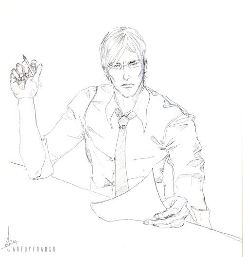 Lex - Legis Dextra gezeichnet von ArtbyFrauSu