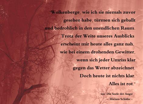 Miriam Schäfer - Die Seele der Angst