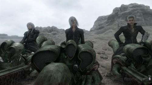 Final Fantasy VII Advent Children - Yazoo, Kadaj, Loz