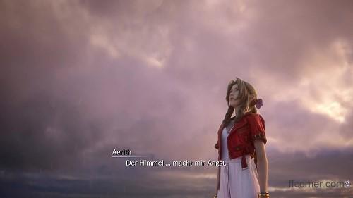 Final Fantasy VII Remake - The Sky frightens me