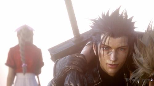 Final Fantasy VII Remake - Zack & Aerith