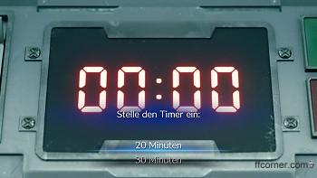 Entscheidung: Timer einstellen
