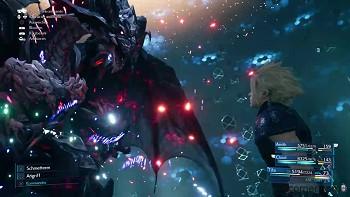 Final Fantasy 7 Remake - Cloud & Bahamut