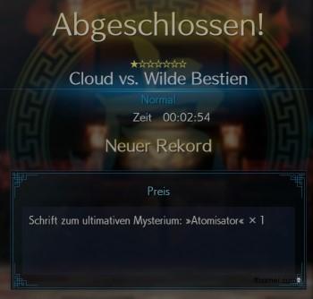 FF7R Cloud vs Wilde Bestien
