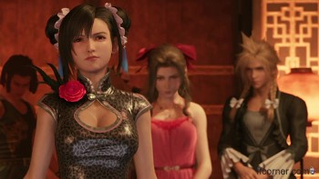 Tifa ist not amused