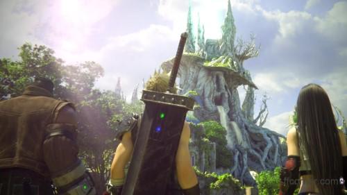 Final Fantasy VII Remake - Ancient Temple
