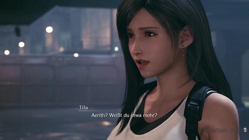 Final Fantasy VII Remake - Aerith knows