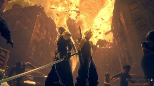 Final Fantasy VII Remake - The End