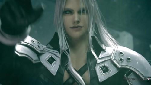 Final Fantasy VII Remake meets Advent Children