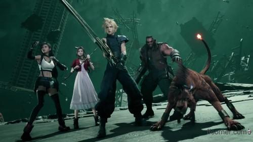 Final Fantasy VII Remake - Party