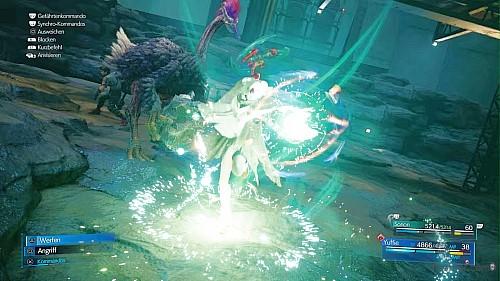 FFinal Fantasy VII Remake Intergrade - Yuffie gibt alles