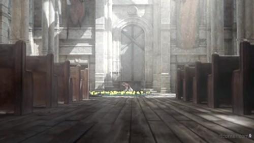 Das Kreuz in Aeriths Kirche - Crisis Core