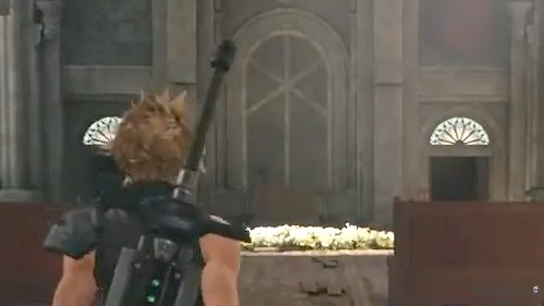 Das Kreuz in Aeriths Kirche - Remake