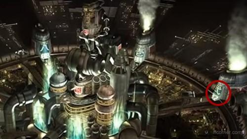 Midgar Reaktor in Final Fantasy VII Original