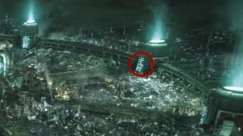 Midgar Reaktor im Final Fantasy VII Remake Intro